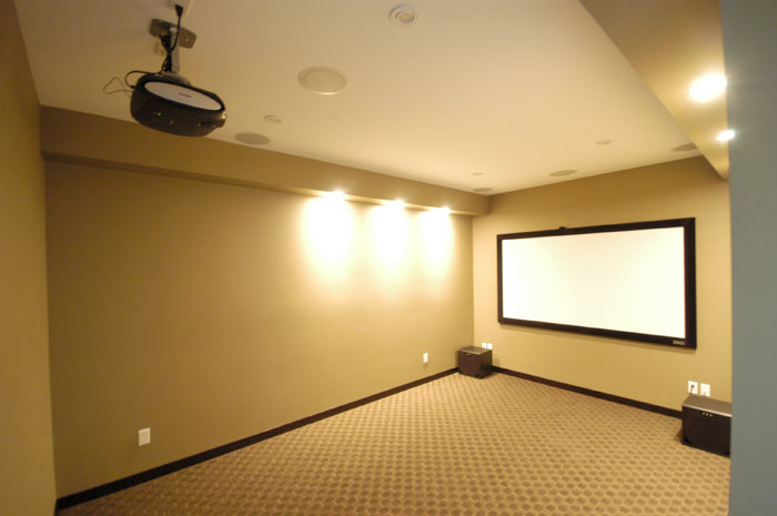Media Rooms Austin TX | Austin Media Room Installation